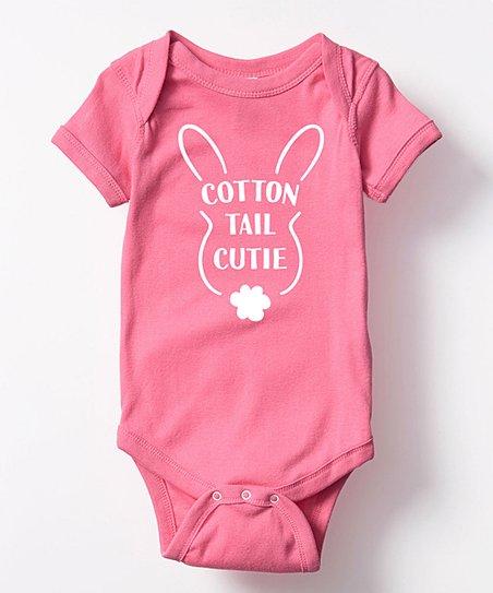 fa47994f6461 Raspberry Cotton Tail Cutie Bodysuit - Infant