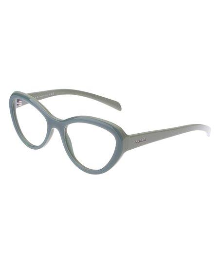 Prada Opal Green Cat-Eye Eyeglass Frames - Women | zulily
