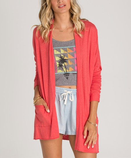 Billabong Coral Outside the Lines Cardigan  35d797278