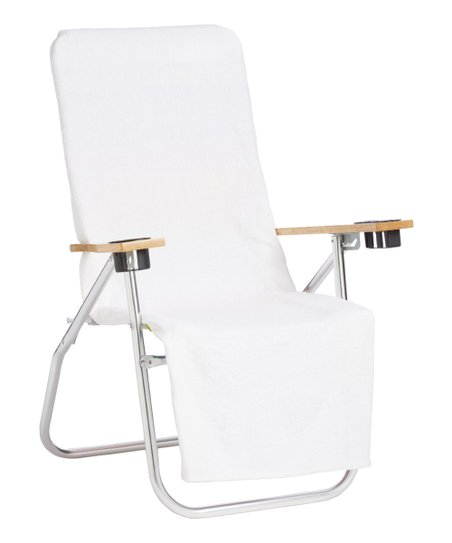 Swell Boardwalk Beach Store White 2 In 1 Beach Towel Chair Cover Gmtry Best Dining Table And Chair Ideas Images Gmtryco