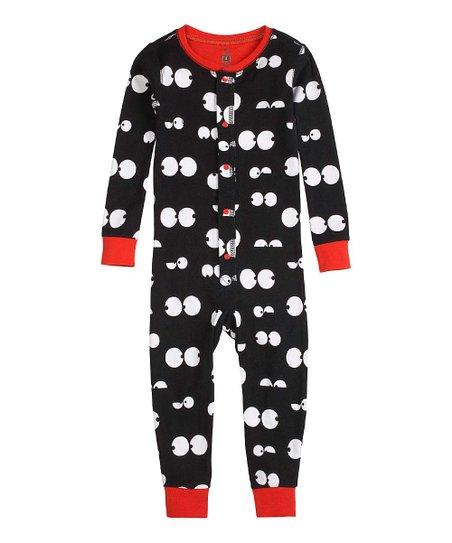 a805a949e093 Black   Red Eyes One-Piece Pajamas - Toddler   Boys