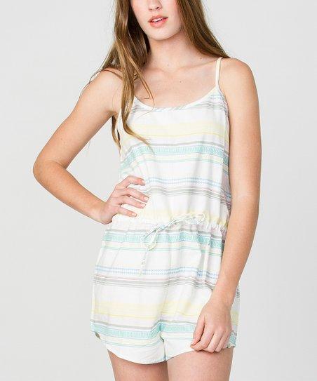 a2c35e215e31 love this product White   Blue Stripe Mango Romper