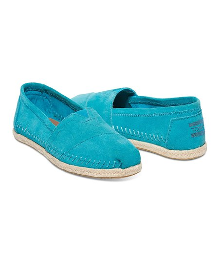 bf491c847a2 love this product Turquoise Suede Rope Sole Classics