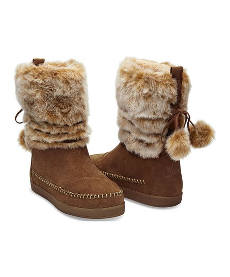 66e23c5aaab love this product Rawhide Suede   Faux Hair Nepal Boot - Women
