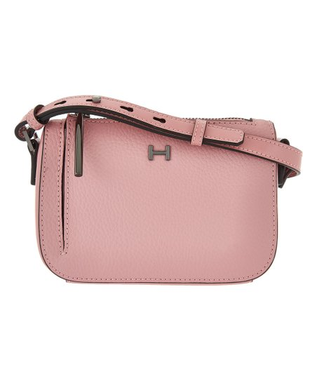 love this product Parfait Pink Pebble   Smooth Leather Mini Crossbody Bag 45e5f688653f4
