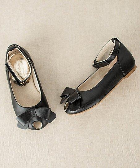 abe9249a87d1 love this product Black Lyra Peep-Toe Flat   Hair Clip