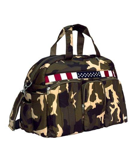 Lug Camo Olive USA Flag Duffel  b85b8953f35