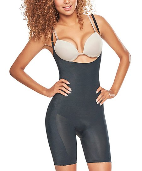 b608cda20a Trueshapers Black Seamless Firm Compression Body Shaper Suit - Women ...