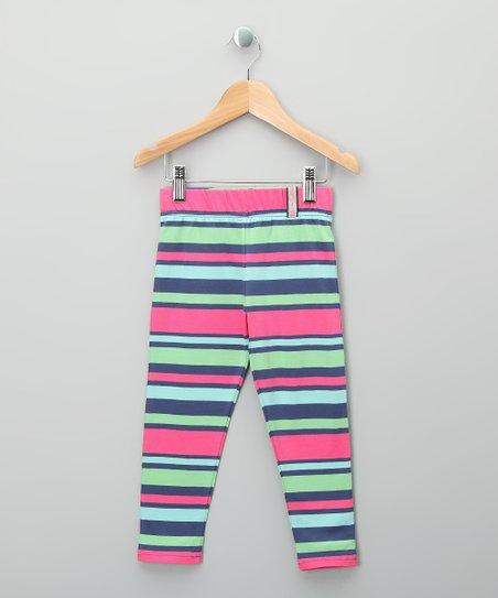 42308ef8640ed Kite Bright Stripe Organic Leggings - Toddler & Girls | Zulily