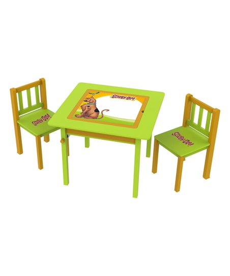 Superb Okids Scooby Doo 4 In 1 Kids Flip Top Table Chairs Ibusinesslaw Wood Chair Design Ideas Ibusinesslaworg