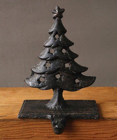 Rust Cast Iron Tree Stocking Holder Zulily