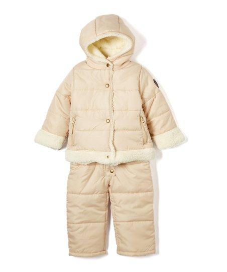 dfa5cc5a7 love this product Oatmeal Tan Snowsuit & Jacket - Infant & Toddler