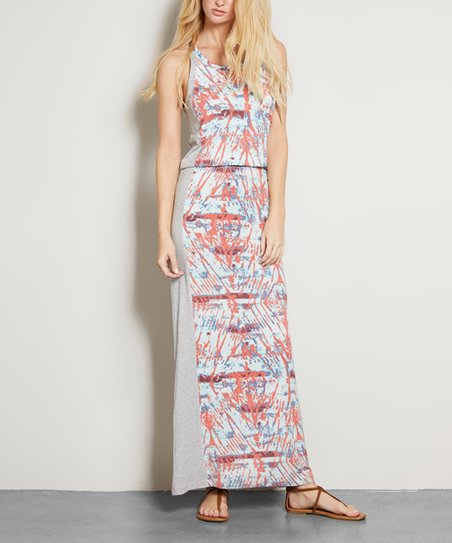 0990f6895d203 Threads 4 Thought Coral Reef Tie-Dye Florence Dress | Zulily