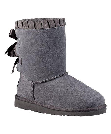 Ugg Nightfall Bailey Bow Ruffles Suede Boot Kids Zulily