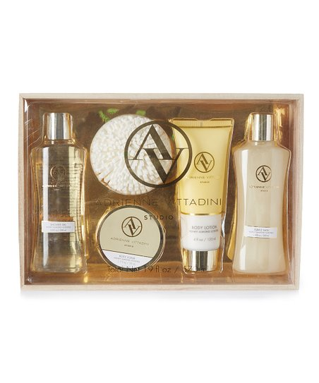 Honey Almond Five-Piece Bath Set