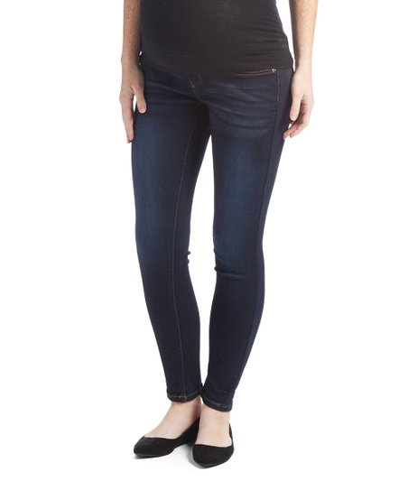 bff786bf9992a love this product Bella Vida Rinse Maternity Skinny Jeans