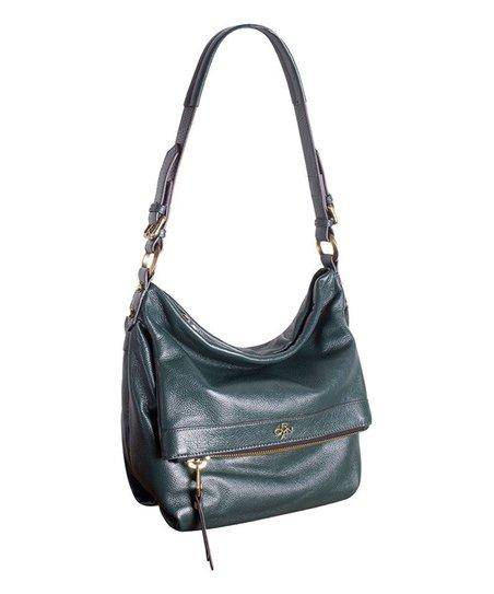 9556257c4fca orYANY Evergreen Abbey Pebble Leather Hobo Bag