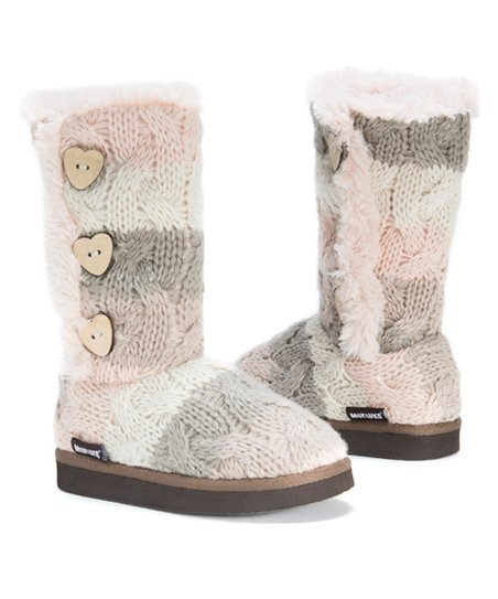 d6a4ea2e1ef5 Muk Luks Gray Malena Boot - Girls