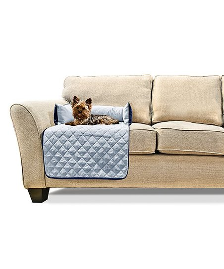 Incredible Furhaven Pet Products Navy Light Blue Small Sofa Buddy Pet Bed Furniture Cover Ocoug Best Dining Table And Chair Ideas Images Ocougorg