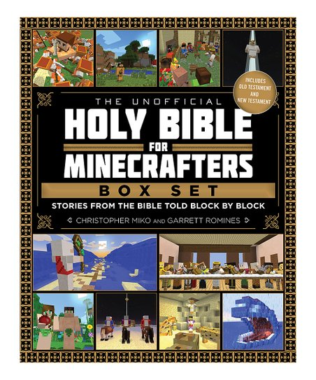 Skyhorse Publishing Unofficial Holy Bible for Minecrafters Hardcover