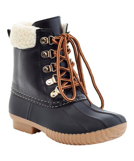 Henry Ferrera Black Mission Duck Boot