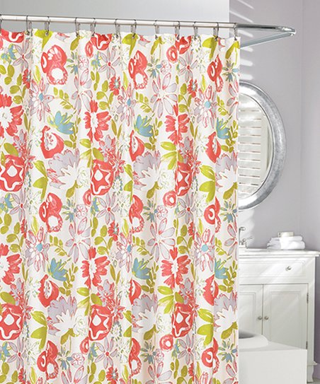 Love This Product Orange Mardis Gras Shower Curtain