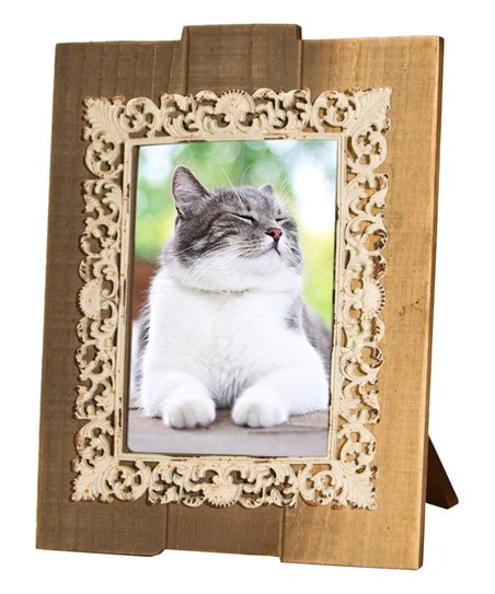 American Mercantile Light Brown Wood Frame Zulily