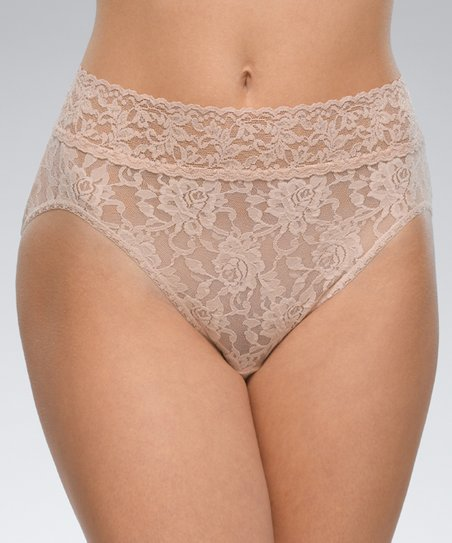 4b97e028748 Hanky Panky Chai Signature Lace French Briefs | Zulily