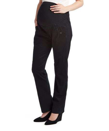 b2ad45c04a7 Mom   Co Black Over-Belly Maternity Pants