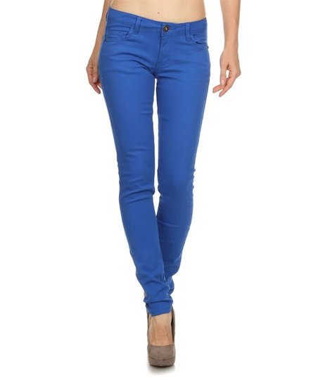 6d477fdb6eb0 love this product Royal Blue Skinny Jeans - Women
