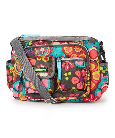90da6080d Lily Bloom Folky Floral Libby Crossbody Bag | Zulily