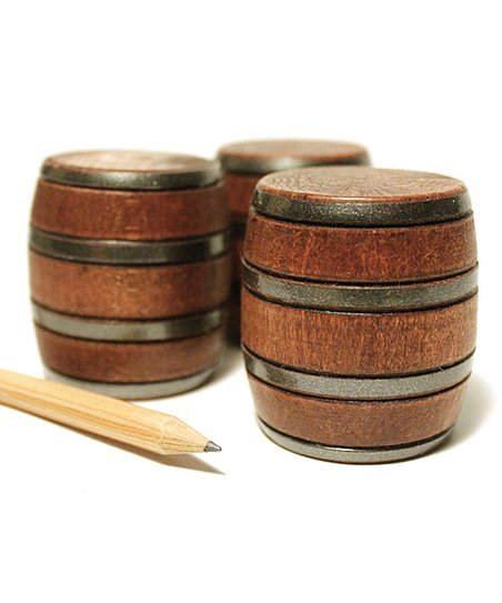 Mini Materials 124 Scale Mini Wooden Barrel Set Of Three