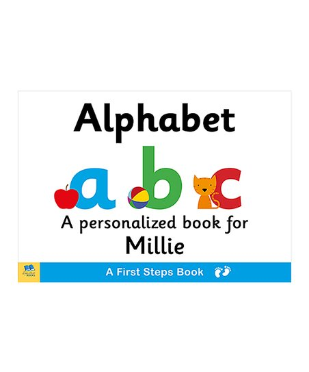 signature gifts first steps alphabet personalized board book zulily