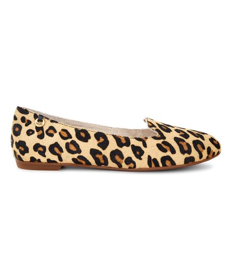 3e9a98059455 love this product UGG® Chestnut Leopard Blyss Calf Hair Ballet Flat