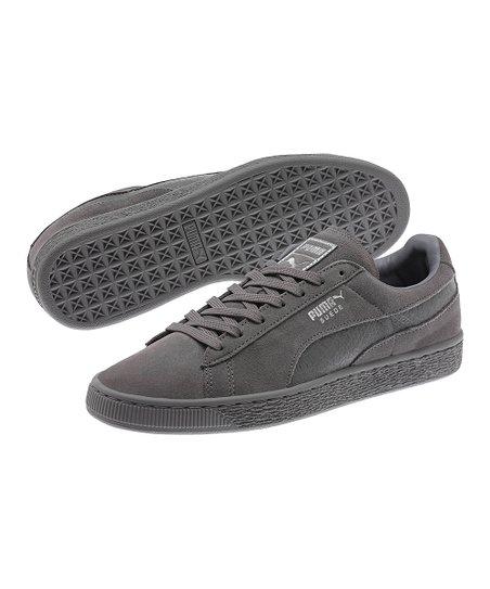 Puma suede classic mono reptile steel gray sneaker schuhe