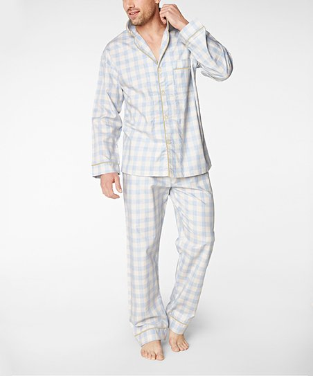 77a2964bea BedHead Pajamas Denim Gingham Pajama Set - Mens Regular