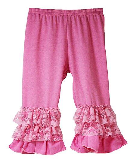5eb81e9c6 Wholesale Princess Pink Ruffle-Hem Pants - Infant, Toddler & Girls ...