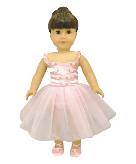dbb594024b5a8 Pink Butterfly Closet Ballerina Outfit for 18 Doll   Zulily