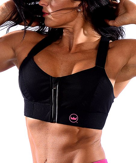 5118e800967cf Shefit Black Ultimate 2 Nursing Sports Bra - Plus Too