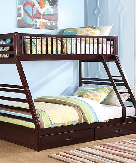 Acme Furniture Inc Jason Twin Xl Over Queen Bunk Bed With Storage