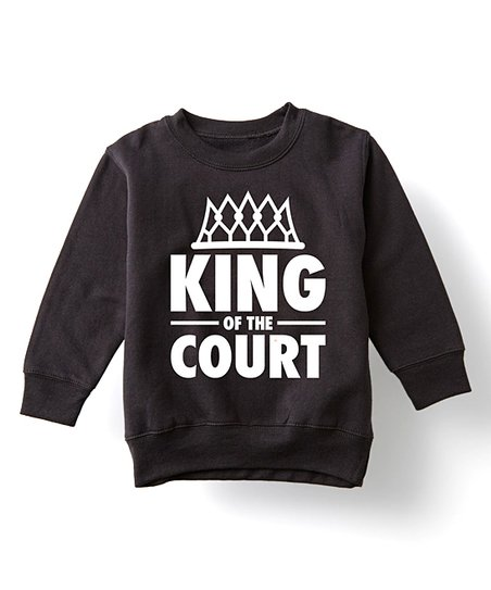 da93424aa3d love this product Black King Of The Court Basketball Sweatshirt - Toddler    Kids