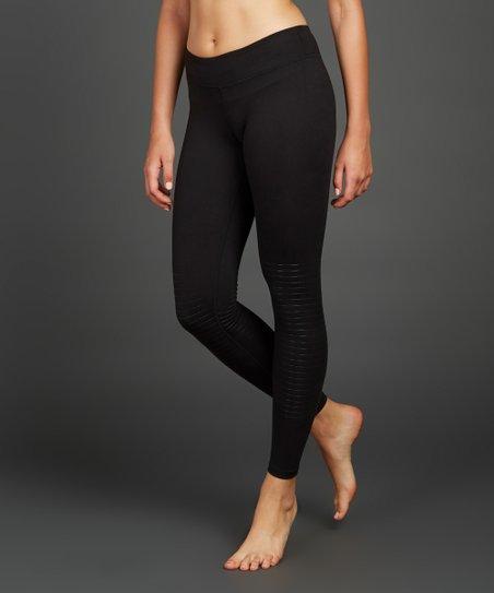 dc651c0a33a3e Zobha Black High-Waist Leggings | Zulily