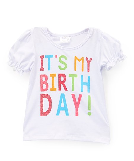 Love This Product White Its My Birthday Tee