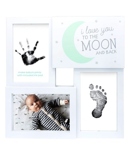 Tiny Ideas Mint I Love You To The Moon Collage Frame Zulily