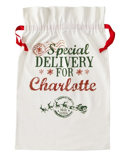 Personal Creations Natural Special Delivery Personalized Gift Bag