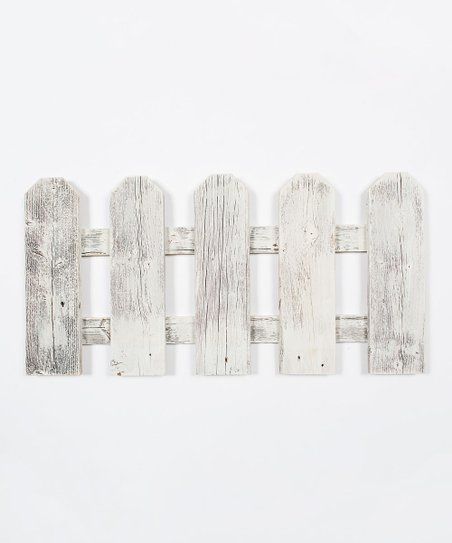Drakestone Designs Whitewash Miniature Barnwood Fence Wall