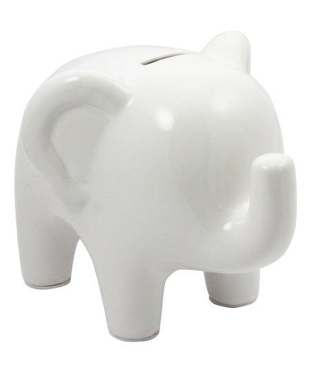 White Elephant Ceramic Bank