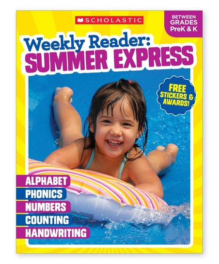 Scholastic Teaching Resources Grades Pre K K Weekly Reader Summer
