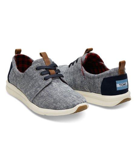 TOMS Blue Chambray Del Rey Sneaker