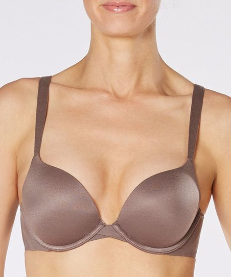 2a6bf7dcae SPANX® by Sara Blakely Pillow Cup Push-Up Plunge Bra - Umber Ash ...
